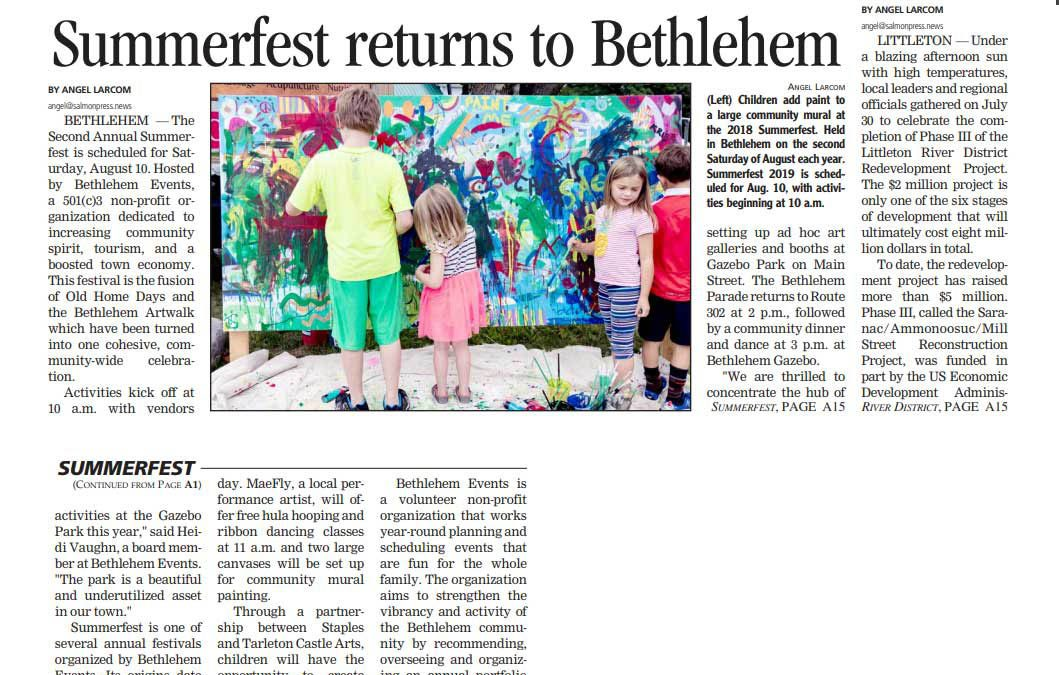 Summerfest returns to Bethlehem