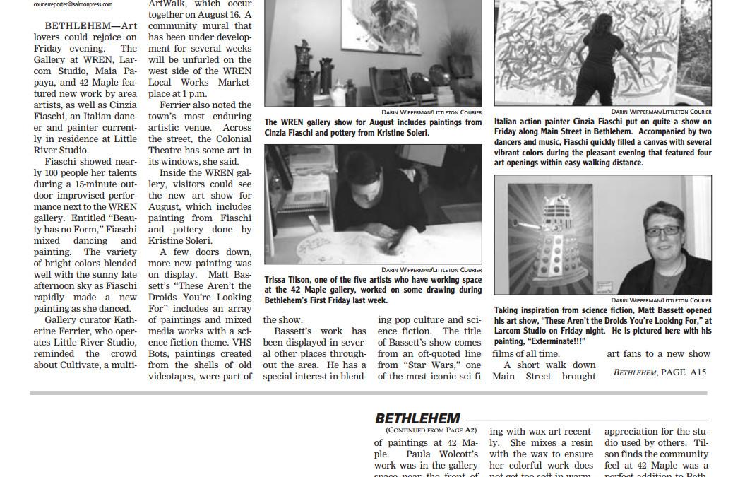 Bethlehem Events in the News Littleton Courier 2015