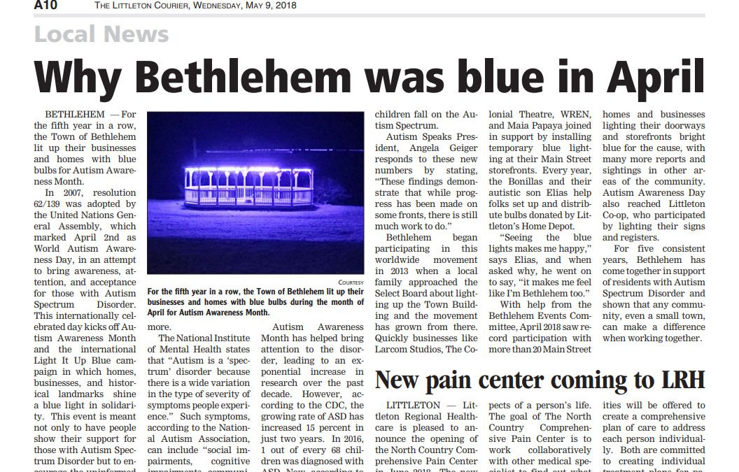 Why Bethlehem was blue in April