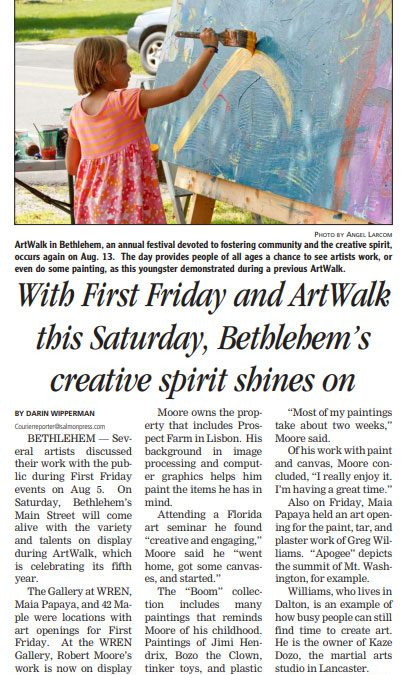 With First Firday and ArtWalk this Saturday Bethlehem's creative spirit shines on